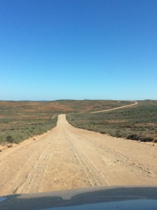 The road between Garies and Hondeklipbaai